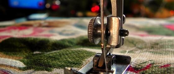 aguja de coser eléctrica